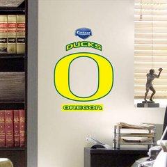 "Oregon Ducks Fathead Teammate NCAA 11"" X 9"" College Football"