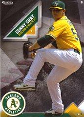 "2016 MLB SONNY GRAY Oakland Athletics A's Fathead Tradeable 5"" X 7"""