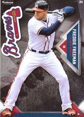 "2016 MLB FREDDIE FREEMAN Atlanta Braves Fathead Tradeable 5"" X 7"""