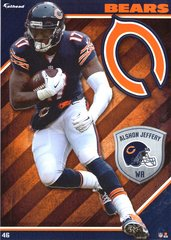 2015 NFL ALSHON JEFFERY CHICAGO BEARS Fathead Tradeable