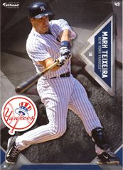 "2016 MLB MARK TEIXEIRA New York Yankees Fathead Tradeable 5"" X 7"""