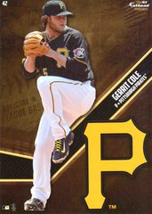 "MLB 2015 GERRIT COLE PITTSBURGH PIRATES Fathead Tradeable 5"" X 7"""