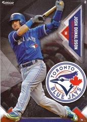 "2016 MLB JOSH DONALDSON Toronto Blue Jays Fathead Tradeable 5"" X 7"""