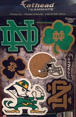 Notre Dame Fighting Irish Fathead Teammate Decals NCAA 7 Decals!