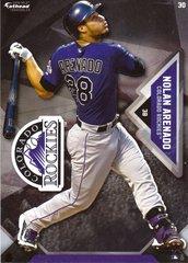 """2016 MLB NOLAN ARENADO Colorado Rockies Fathead Tradeable 5"""" X 7"""""""