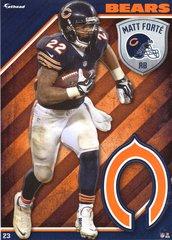 2015 NFL MATT FORTE CHICAGO BEARS Fathead Tradeable
