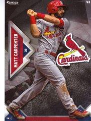 """2016 MLB MATT CARPENTER St. Louis Cardinals Fathead Tradeable 5"""" X 7"""""""