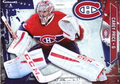 """2016 NHL CAREY PRICE MONTREAL CANADIENS Fathead Tradeable 5"""" X 7"""""""