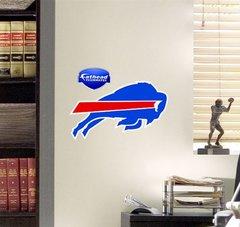 "NFL BUFFALO BILLS FATHEAD TEAMMATE LOGO 13"" X 9"" Football"