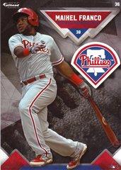 "2016 MLB MAIKEL FRANCO Philadelphia Phillies Fathead Tradeable 5"" X 7"""