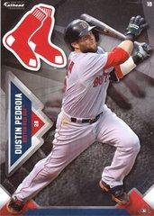 "2016 MLB DUSTIN PEDROIA Boston Red Sox Fathead Tradeable 5"" X 7"""