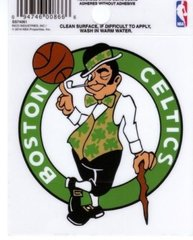 NBA BOSTON CELTICS STATIC CLING WINDOW DECAL OFFICIALLY LICENSED