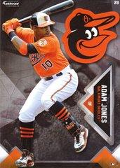"2016 MLB ADAM JONES Baltimore Orioles Fathead Tradeable 5"" X 7"""