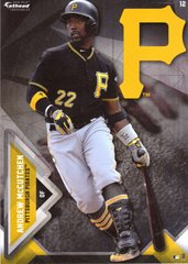 "2016 MLB ANDREW McCUTCHEN Pittsburgh Pirates Fathead Tradeable 5"" X 7"""