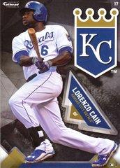 "2016 MLB LORENZO CAIN Kansas City Royals Fathead Tradeable 5"" X 7"""