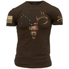 GRUNT STYLE AMERICAN TROPHY T-SHIRT USA PATRIOTIC COUNTRY