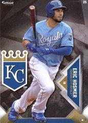 "2016 MLB ERIC HOSMER Kansas City Royals Fathead Tradeable 5"" X 7"""