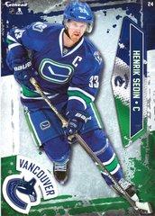 """2016 NHL HENRIK SEDIN VANCOUVER CANUCKS Fathead Tradeable 5"""" X 7"""""""