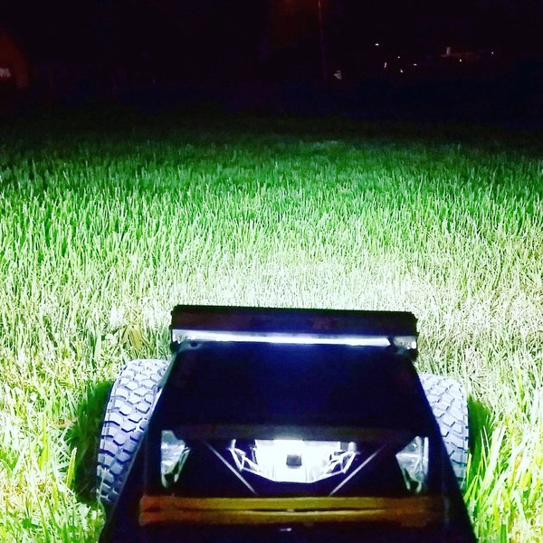 Black beauty super bright light bar rc lightbar waterproof black beauty super bright light bar rc lightbar waterproof onetoomanyrcs bringing innovative rc products to market mozeypictures Images