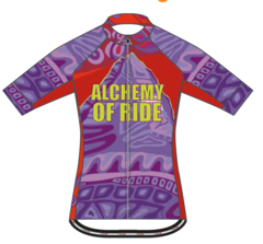 Colours of Assiniboine Ladies cycling jersey
