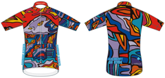 Dharma Mt Lefroy mens full zip short sleeve cycling jersey