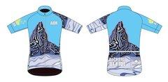 Black Tusk Men's Full Zip short sleeve cycling jersey.