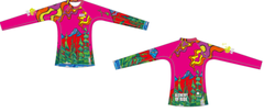Three Sisters Playground Ladies Rashguard SPF 50
