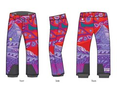 Colours of Assiniboine unisex 4 way stretch softshell ski pant