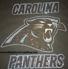 Carolina Panthers Bling Shirt