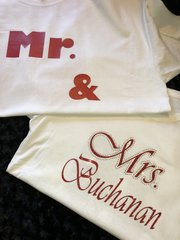 Mr. & Mrs. Together Since / Married Since