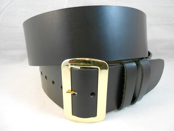 plain santa claus belt and buckle solid leather high