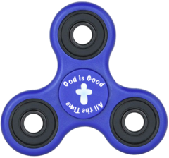 (b) God is Good Fidget Spinner - Packs of 50