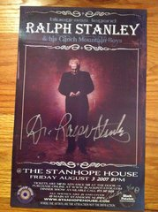 Dr. Ralph Stanley - Black Potatoe Live - 2007 - HAND signed and numbered