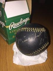 Autographed Pinetop Perkins Baseball