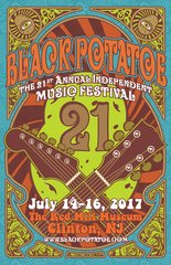 4 day pass for the 21st Annual Black Potatoe Music Festival - July 13th-16th, 2017 - Clinton, NJ @ The Red Mill Museum
