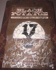 The 17th Annual Black Potatoe Music Festival 2013 Signed Poster (#'d to 20) - signed by Ellis Paul, Chris Smither, Eilen Jewel, Jimmy Vivino, The Matt Angus Thing