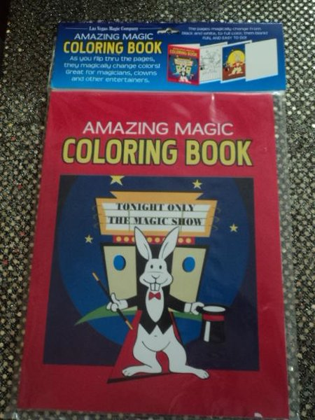 amazing magic coloring book standard size - Magic Coloring Book