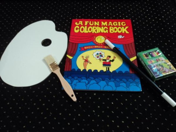 magic coloring bookpalettevanishing crayons wand special - Magic Coloring Book