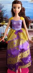 Barbie Princess Dress-Modest Barbie Clothes-Shoes-Pearl Earrings