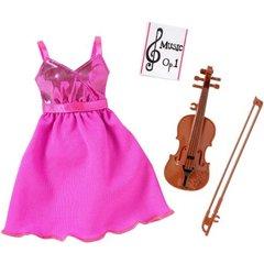Modest Fancy Dress-Barbie Doll Fashion-Shoes-Violin-Sheet Music