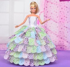 Barbie Ballgown-Purse-Shoes-Necklace-Bracelet-Earrings