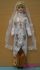 Barbie Wedding Gown-Veil-Jacket-Skirt-Shirt-Shoes-Jewelry
