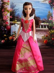 Valentine's Barbie Princess Dress-Barbie Shoes-Pearl Earrings