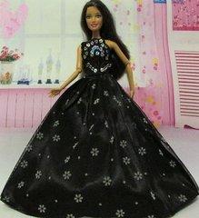Barbie Ballgown-Modest Barbie Clothes-Purse-Shoes-Earrings