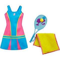 Tennis Time Barbie Set-Tennis Racket-Towel-Sneakers-Earrings