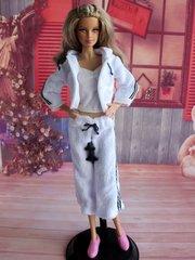 Barbie Casual Wear-Shirt-Pants-Shoes-Jacket-Belt-Sneakers