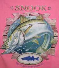 Hot Pink T-Shirt- Snook