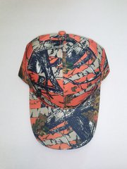 Orange Camo Hardwoods Baseball Cap/Hat