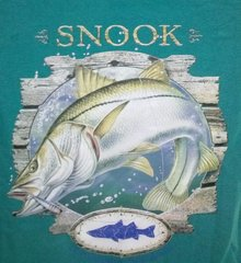 Blue T-Shirt- Snook
