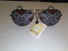 Rebel / Confederate Flag Aviator Sunglasses